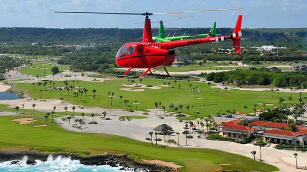 la jalda waterfall dominican rebublic helicopter tours iDominicana