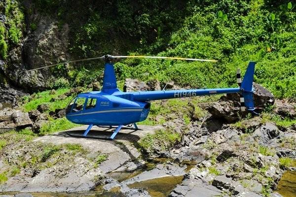 Водопад Ла Хальда на вертолете