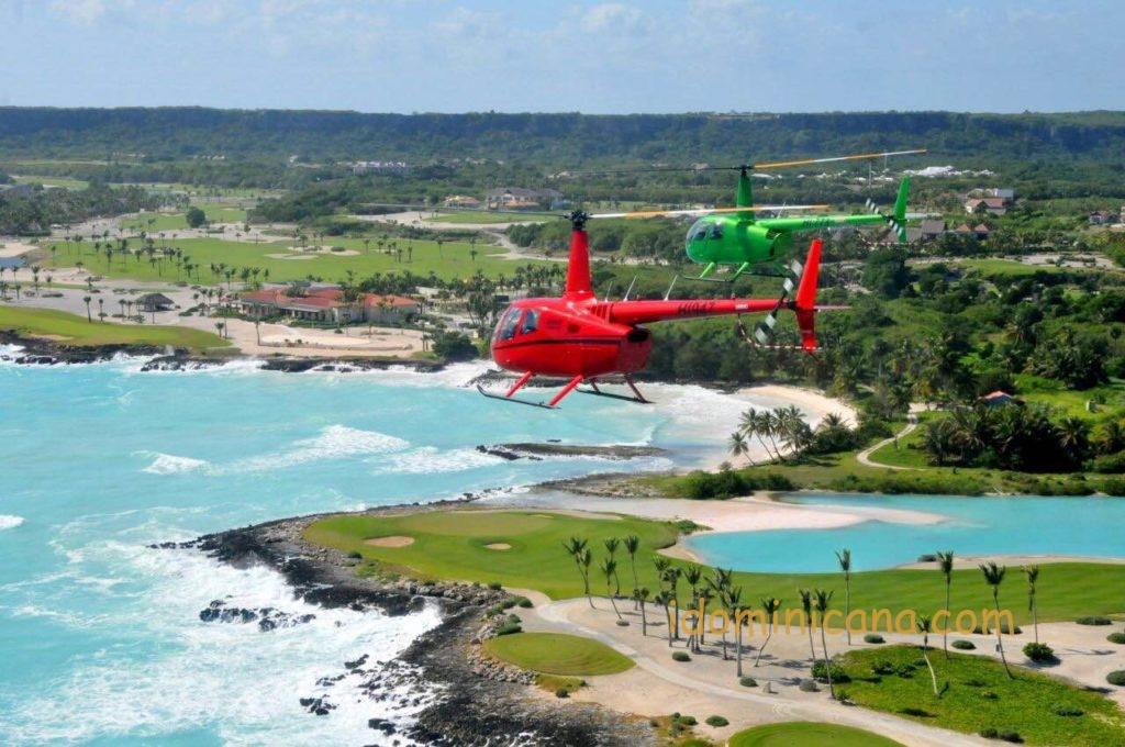 Прогулки на вертолетах: лазурные берега с высоты птичьего полета!3