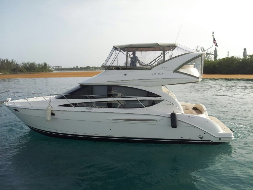 Моторная яхта Meridian 42 - $2100 iDominicana