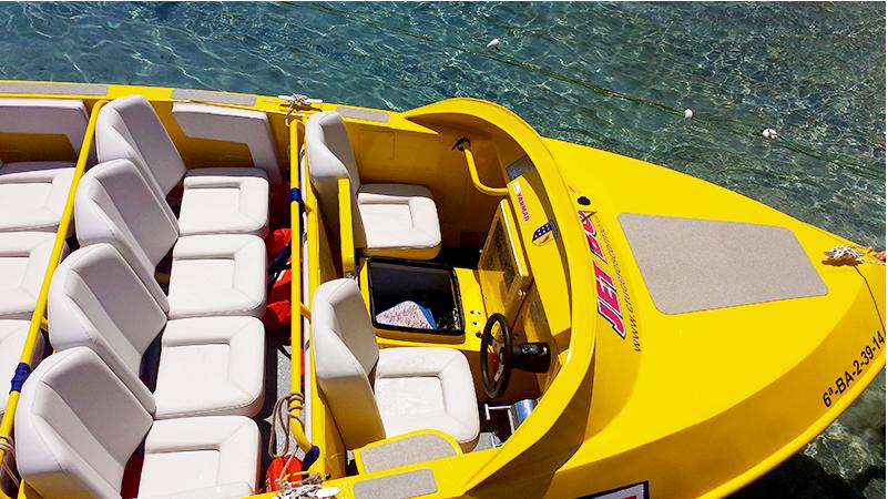 Jet boat + снорклинг +купание с акулами и скатами iDominicana