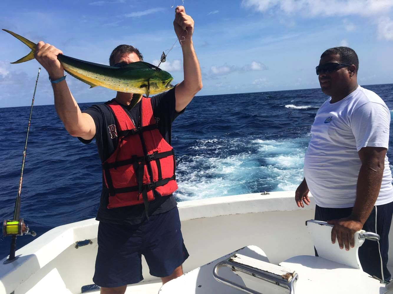 Рыбалка в Доминикане: как мы охотились на дорадо и марлина