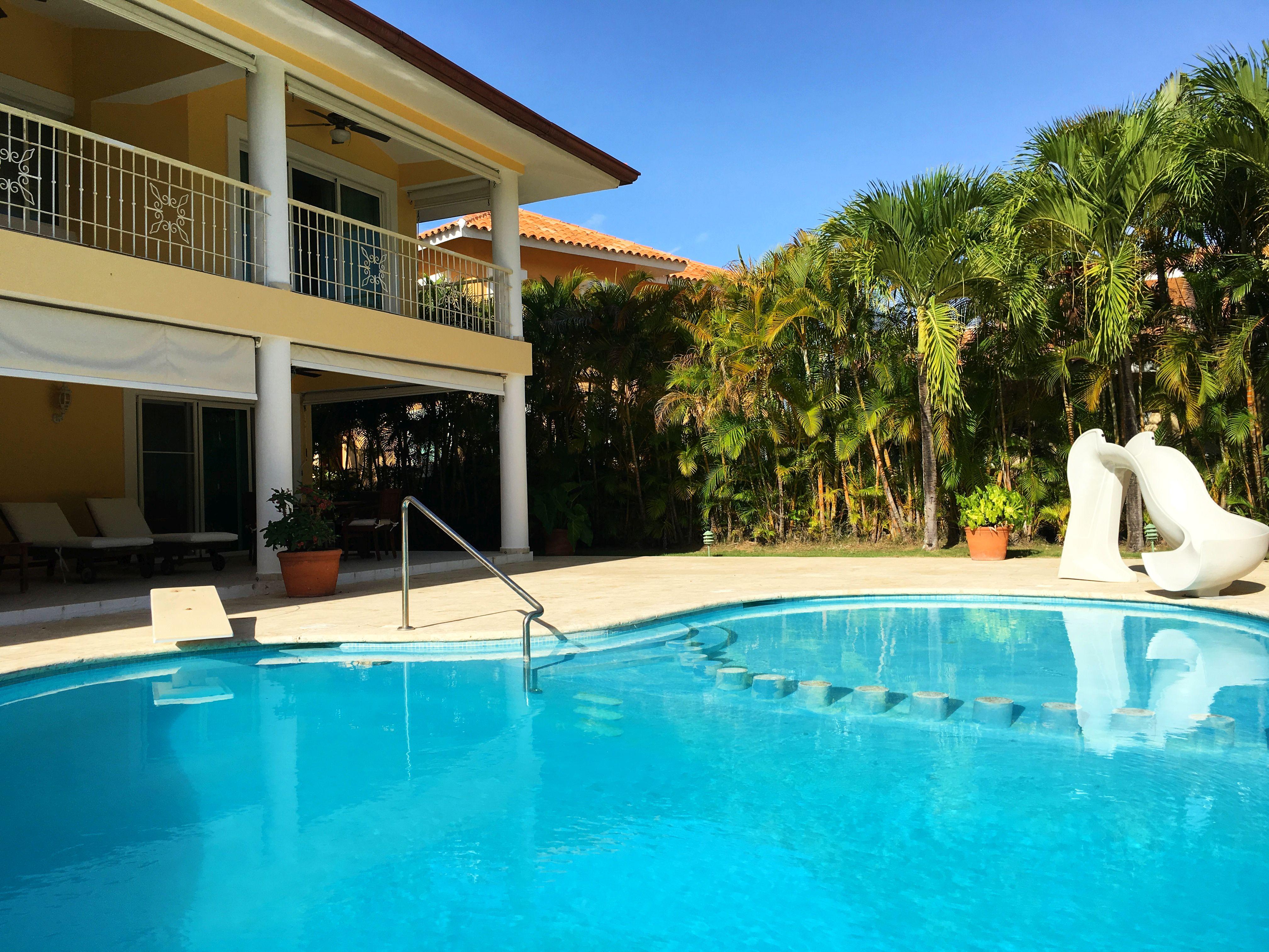 Аренда виллы в Доминикане: Cocotal, 3 спальни, 2 этажа, собственный бассейн