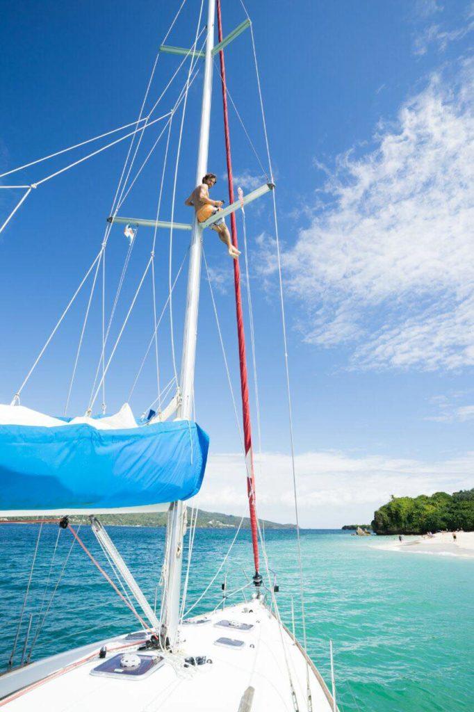 Киты в Доминикане + о.Бакарди: индивидуальная экскурсия на парусной яхте