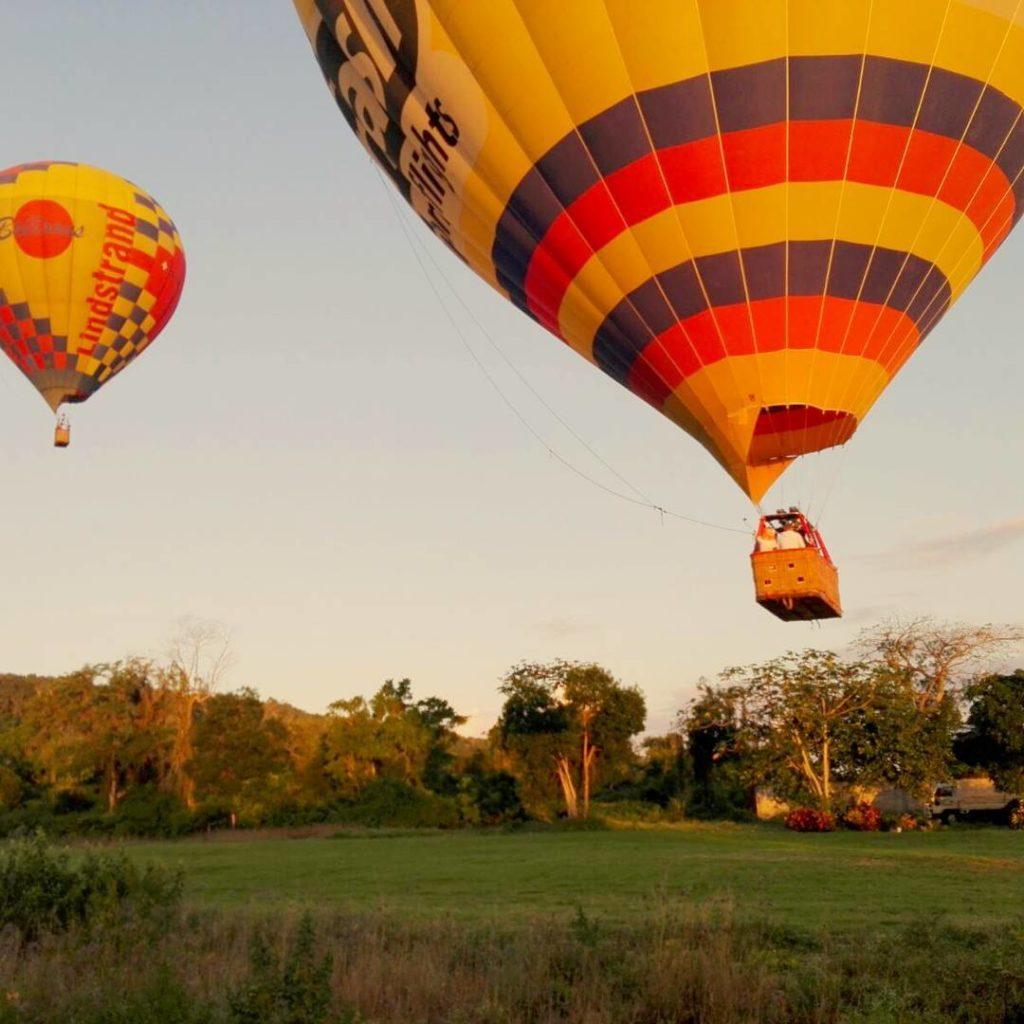 Полет на воздушном шаре iDominicana