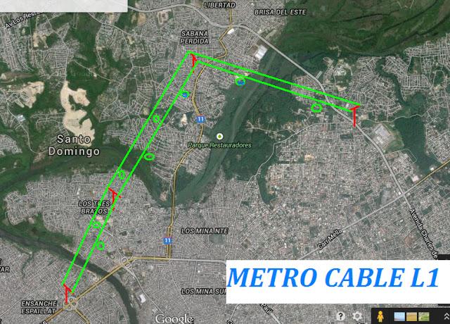 В Санто-Доминго в 2018 году откроют городскую канатную дорогу