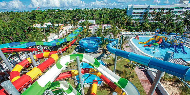 В Доминикане отель Riu Republica открыл новый аквапарк «только для взрослых»
