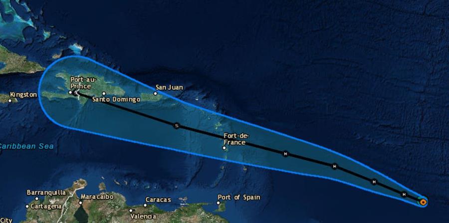 Ураган Берил движется в сторону Пуэрто-Рико и Доминиканы