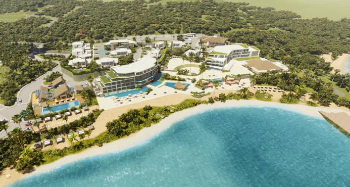 В Доминикане на Бараоне отроют элитный курорт Perla del Sur