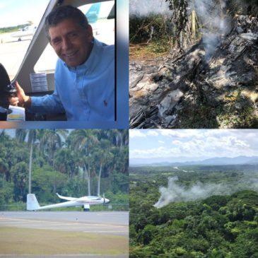 В Доминикане разбился самолет