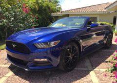 (Русский) Аренда авто в Доминикане: кабриолет Ford Mustang
