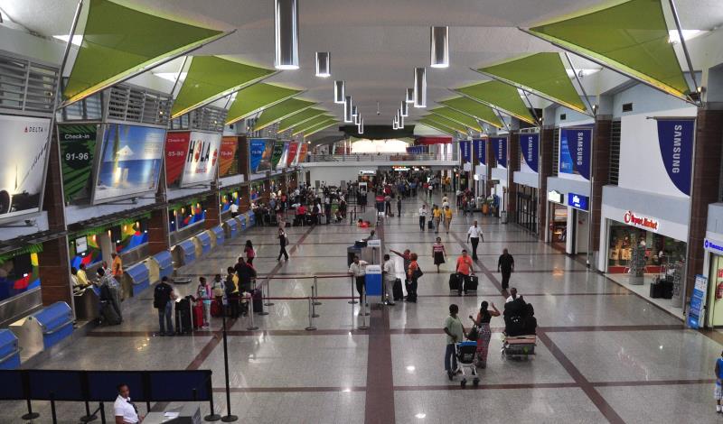В аэропорту Лас-Америкас изъяли 91 кг кокаина