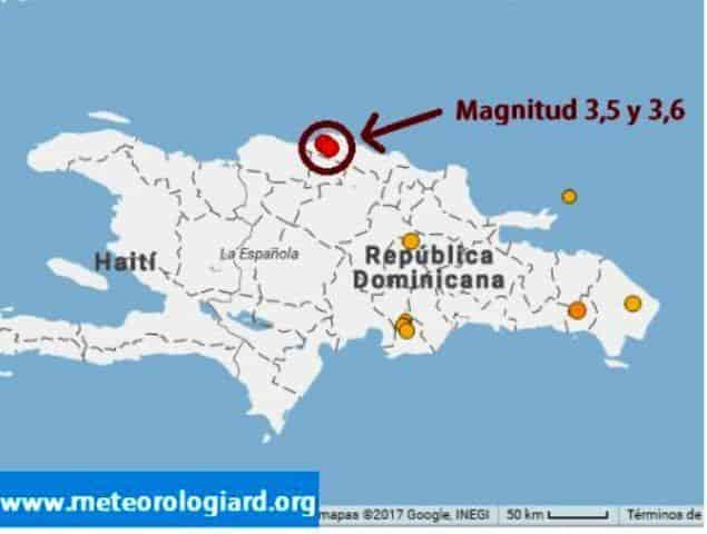 землетресение в доминикане магитуда экскурсии