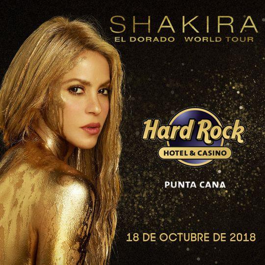 Шакира в Доминикане! Уже сегодня - 18 октября!