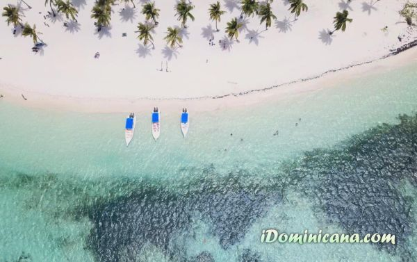 Саона эксклюзив фото с дрона iDominicana.com