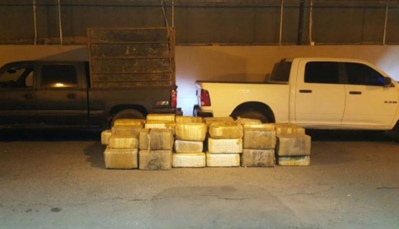 В Доминикане задержали грузовик со 104 кг марихуаны