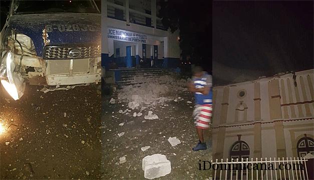 Землетрясение на Гаити 2018: фото разрушений