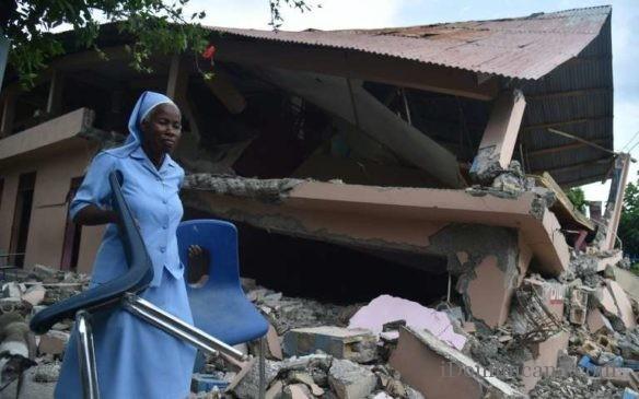 землетрясение на Гаити 2018 2