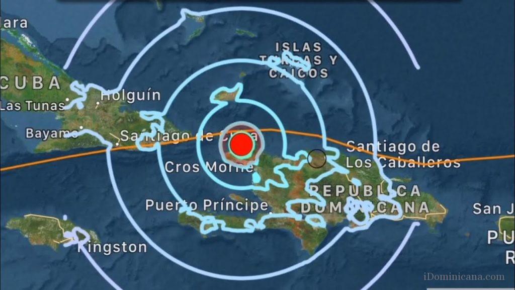 землетрясение в доминикане