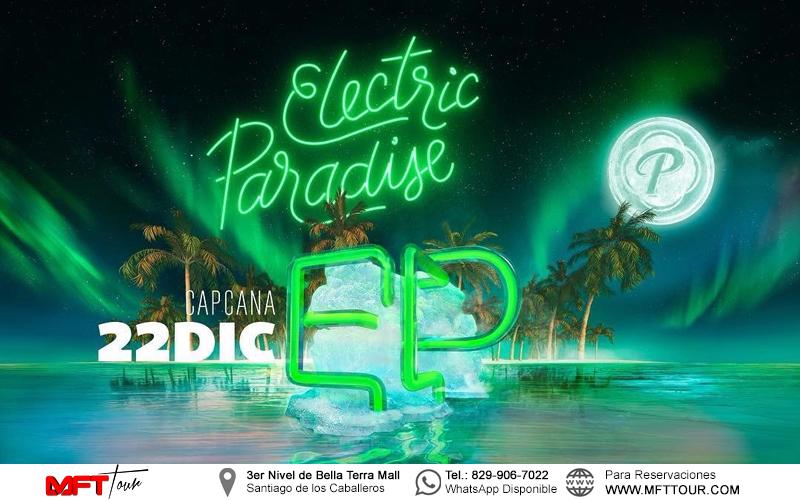 Electric paradise возвращается в Доминикану!