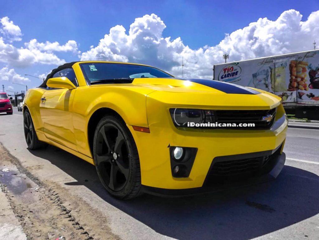 Авто Доминикана: сдается в аренду кабриолет Chevrolet Camaro