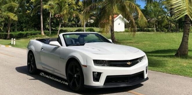 Авто Доминикана: сдается в аренду кабриолет Chevrolet Camaro iDominicana.com