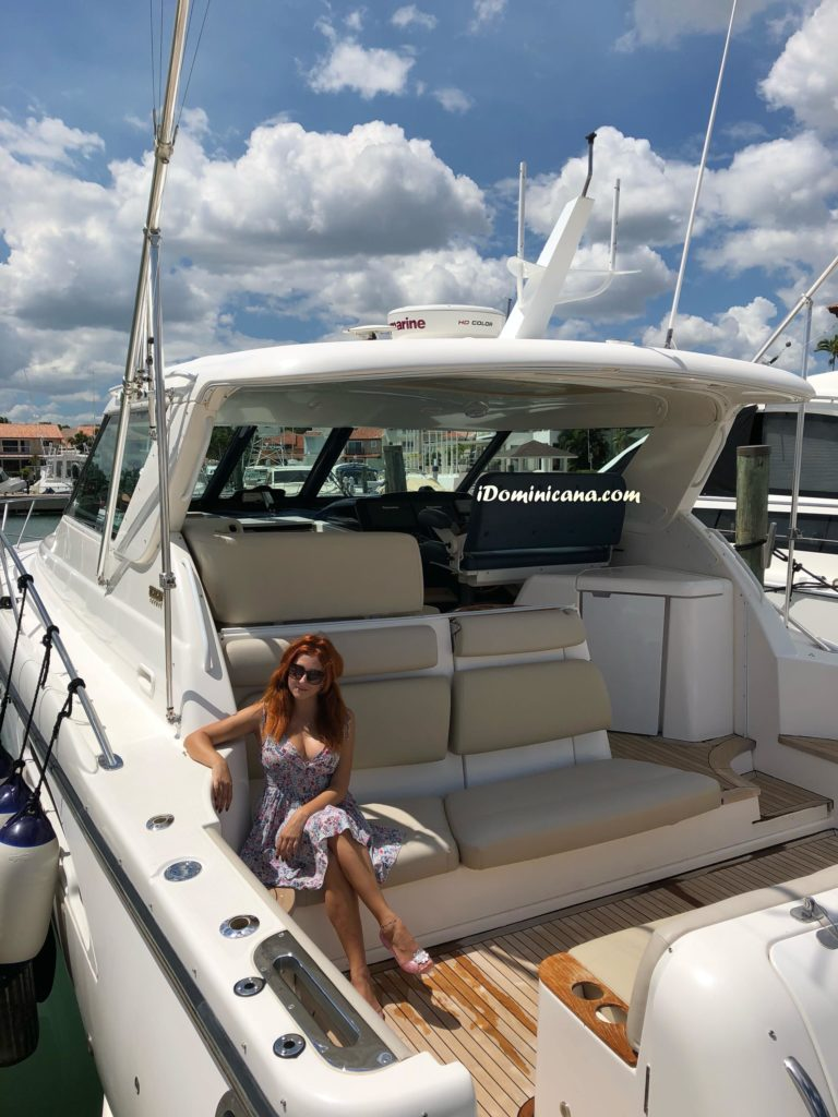 Частная яхта в Доминикане, тип Tiara, 47 ft АйДоминикана