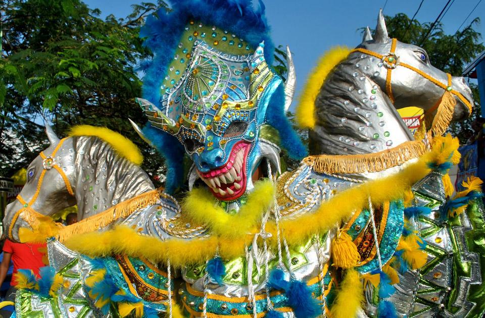 Карнавал в Доминикане (Пунта Кана). Видео!