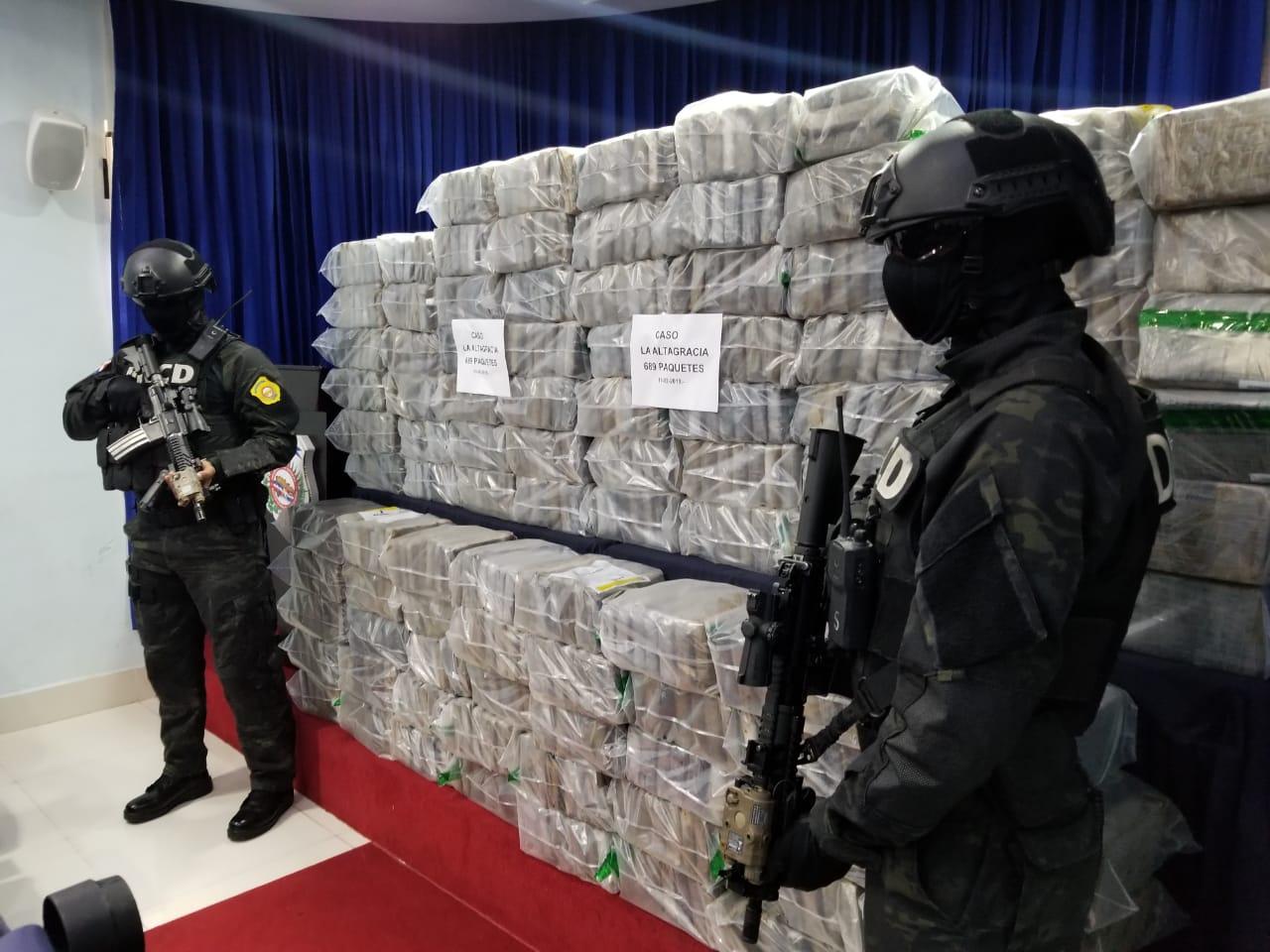 В Байяибе арестовали 689 упаковок кокаина