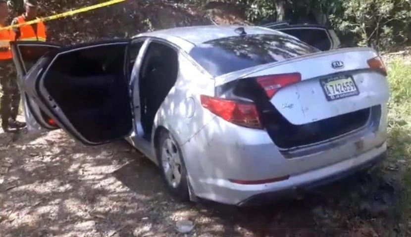 В Доминикане нашли автомобиль с тремя застреленными пассажирами