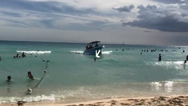 В районе острова Саона под винтами мотора скоростной лодки погиб турист