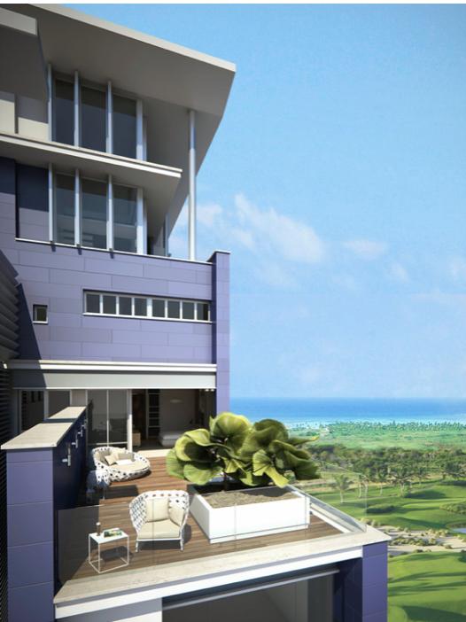 В Кап-Кане представили первый высотный отель на пляже Хуанийо - 7 Mares