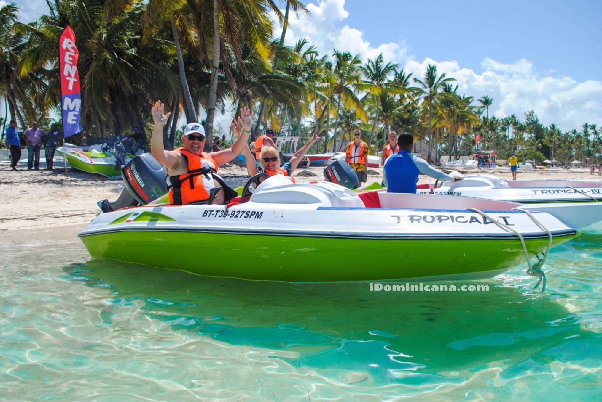 Гонки на скоростных лодках в Доминикане iDominicana.com