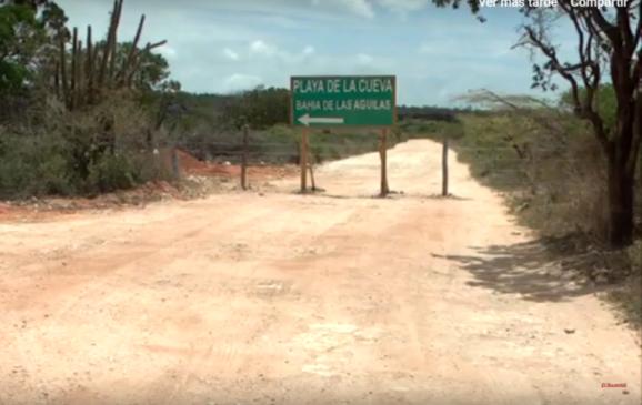 Частный предприниматель перекрыл дорогу в Бухту орлов в Доминикане