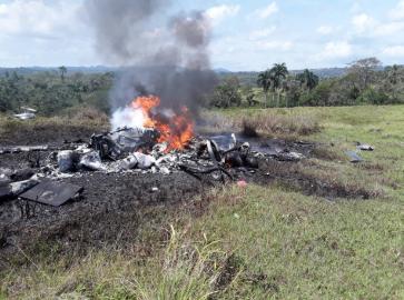 В Пуэрто-Плата разбился вертолет, погибло 3 человека