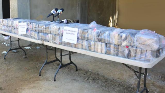 В Доминикане за неделю изъяли и уничтожили 395 кг наркотиков