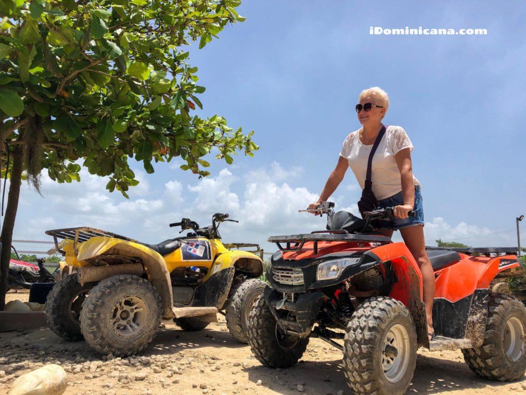 Квадроциклы (пляж Макао, пещера Таино) iDominicana.com