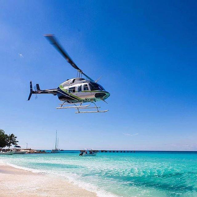 VIP-Саона экскурсия на вертолете АйДоминикана