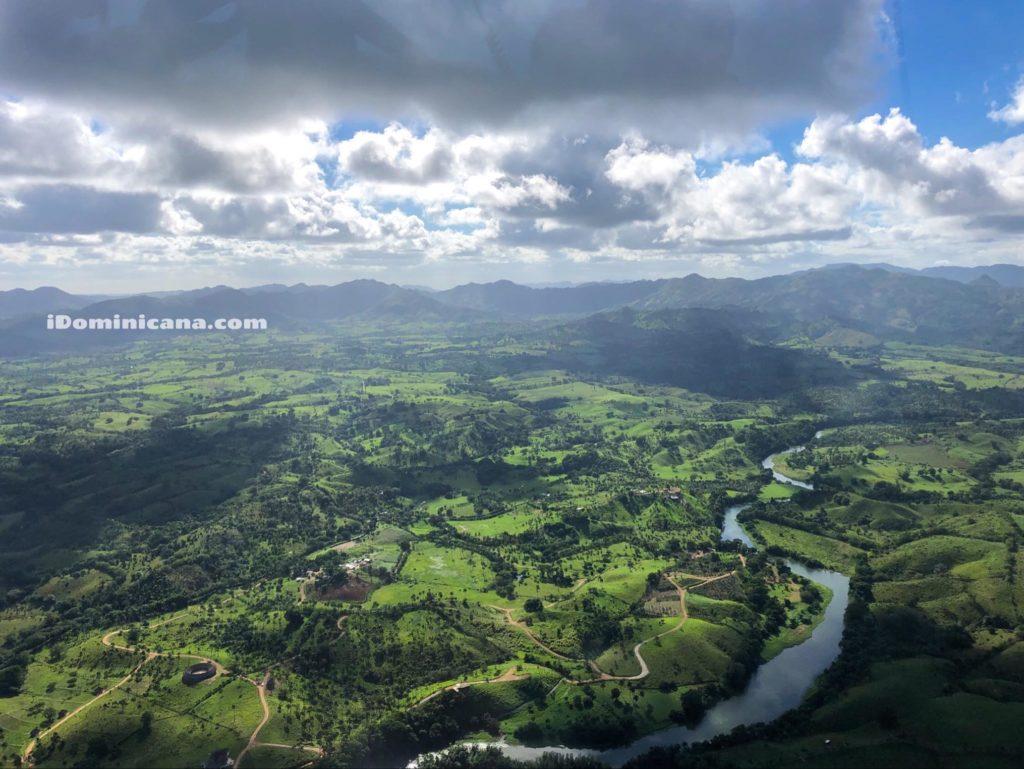 Водопад Ля Хальда на вертолете iDominicana.com