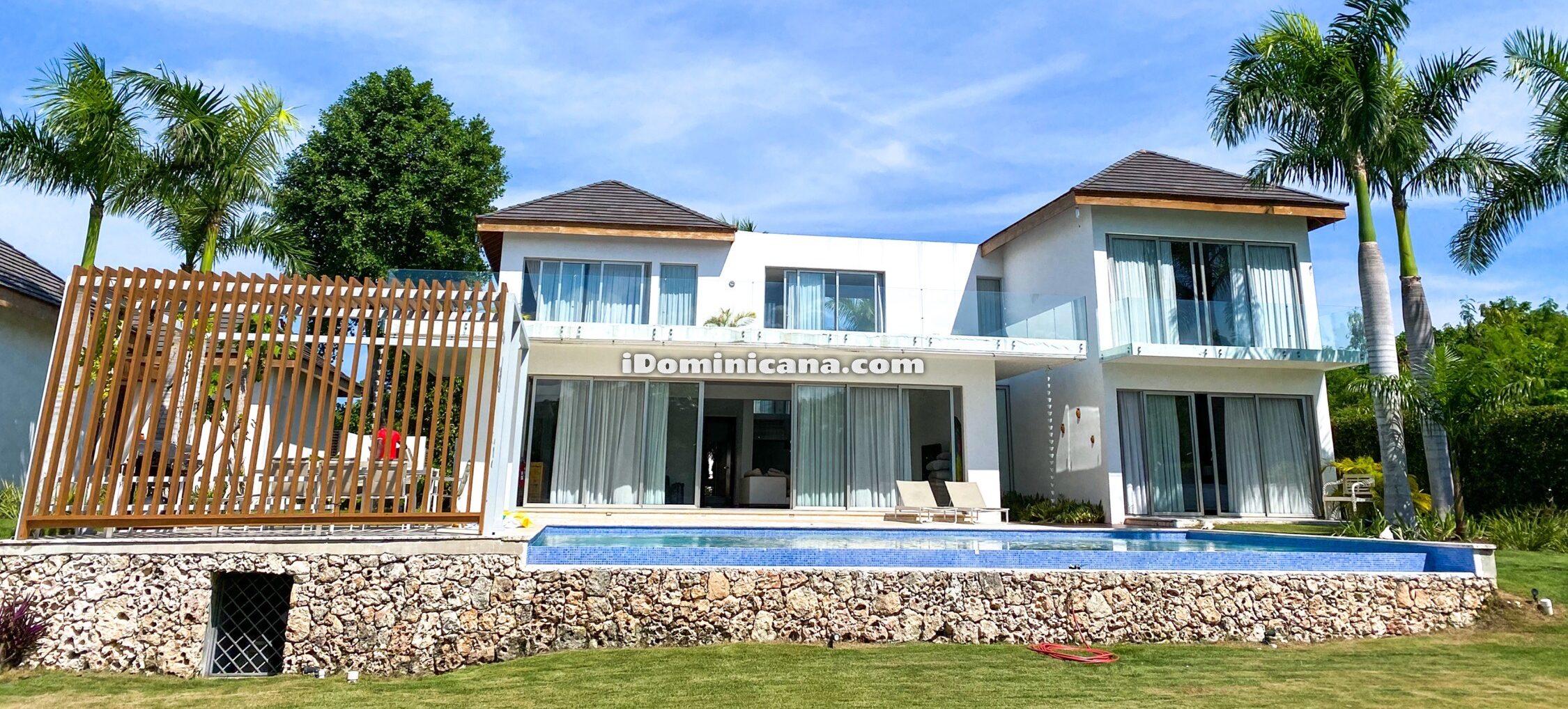 Вилла в Доминикане (Пунта-Кана): вилла Crystal, 6 спален
