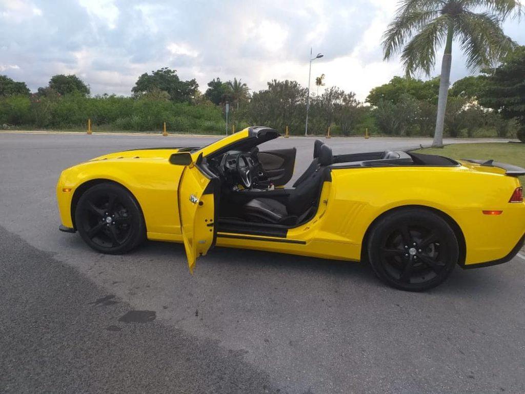 Авто Доминикана: новый стильный образ кабриолета Camaro