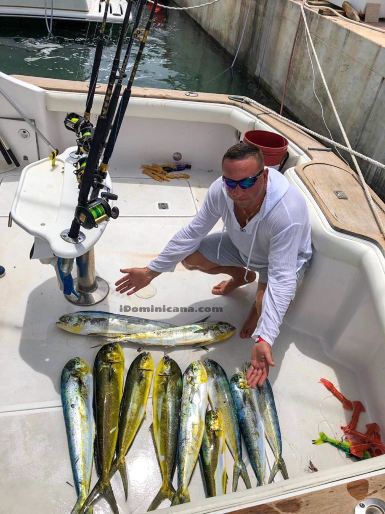 Индивидуальная трофейная рыбалка в Доминикане (частная яхта) iDominicana.com
