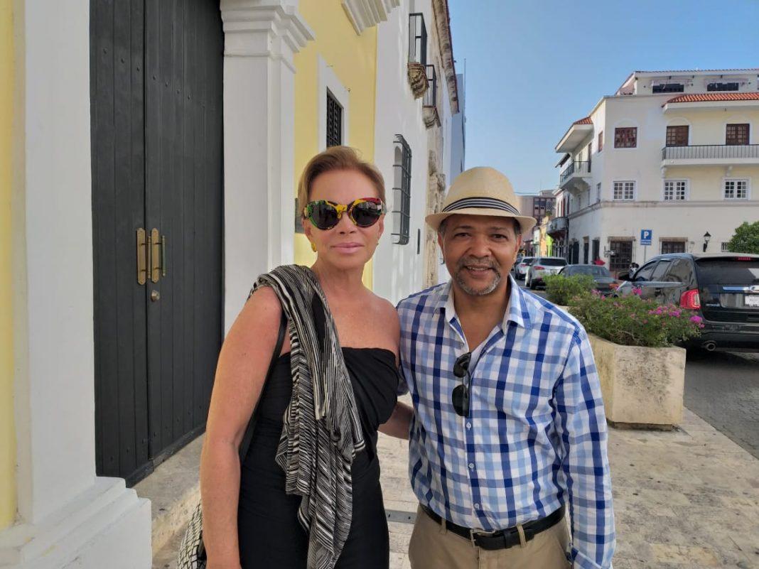 Испанская звезда Палома Сан Брасилио отдыхает в Санто-Доминго