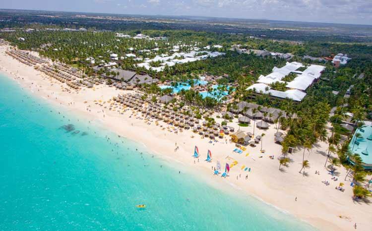 За полгода Доминикану посетило около 8 млн туристов