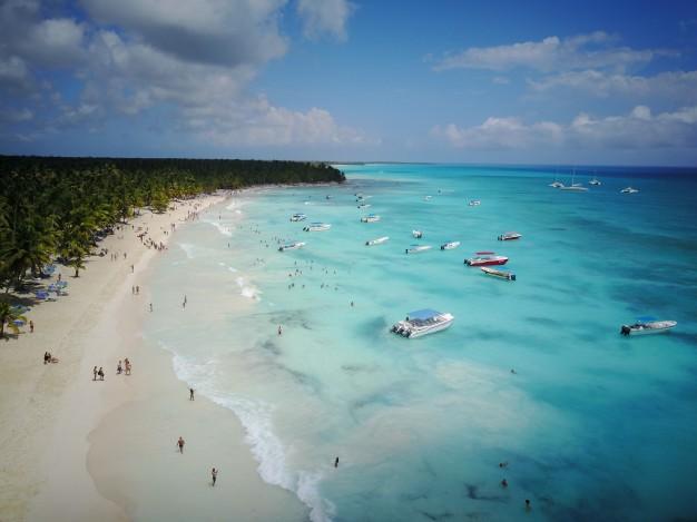 Экскурсия Саона на вертолете: новый пляж, меню и напитки!