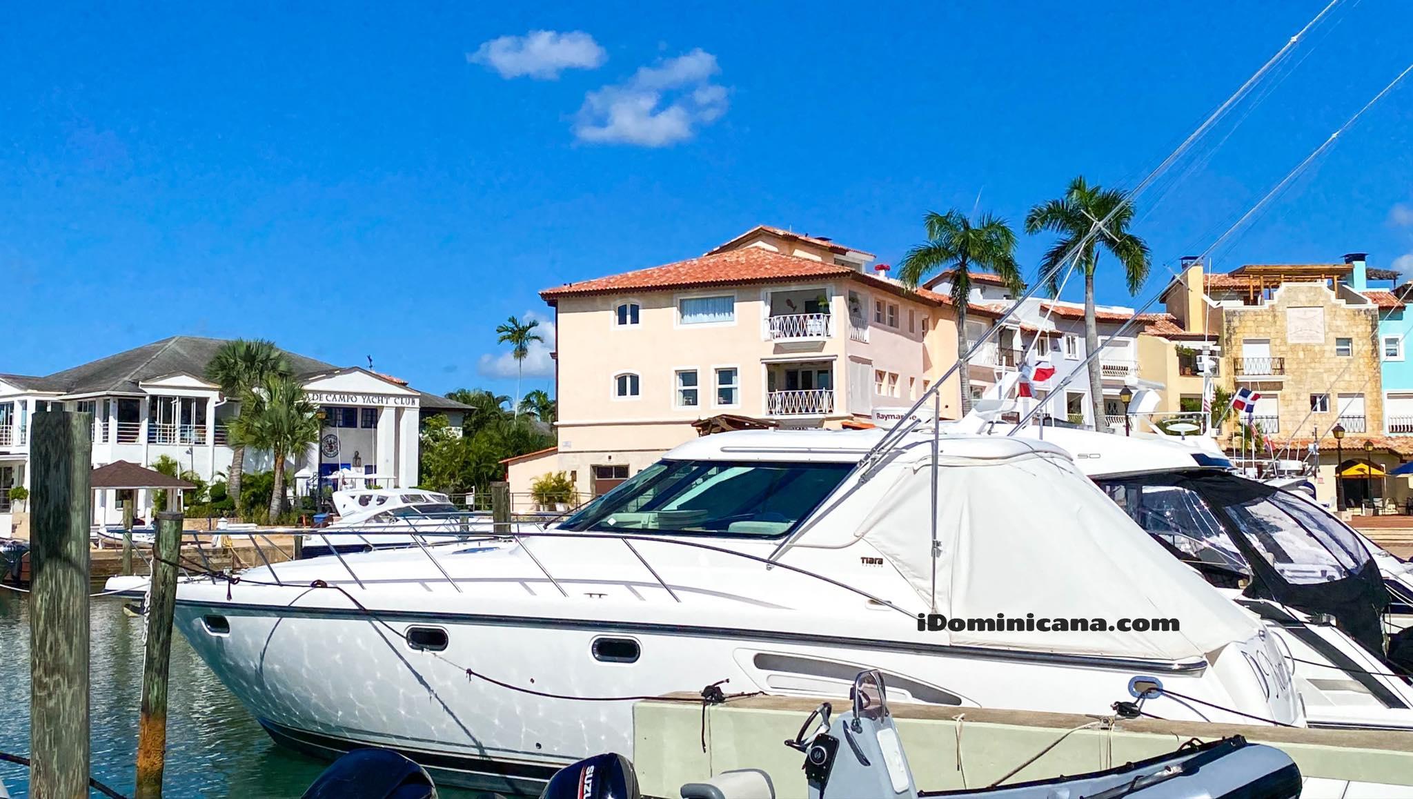 Частная яхта в Доминикане, тип Tiara, 47 ft