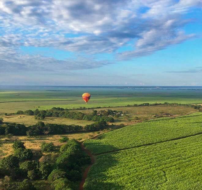 Воздушный шар Доминикана: полет над Райской республикой. Видео