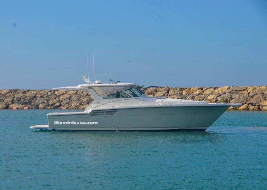 Яхта в Доминикане: Tiara 42 ft, маршрут - остров Саона iDominicana.com