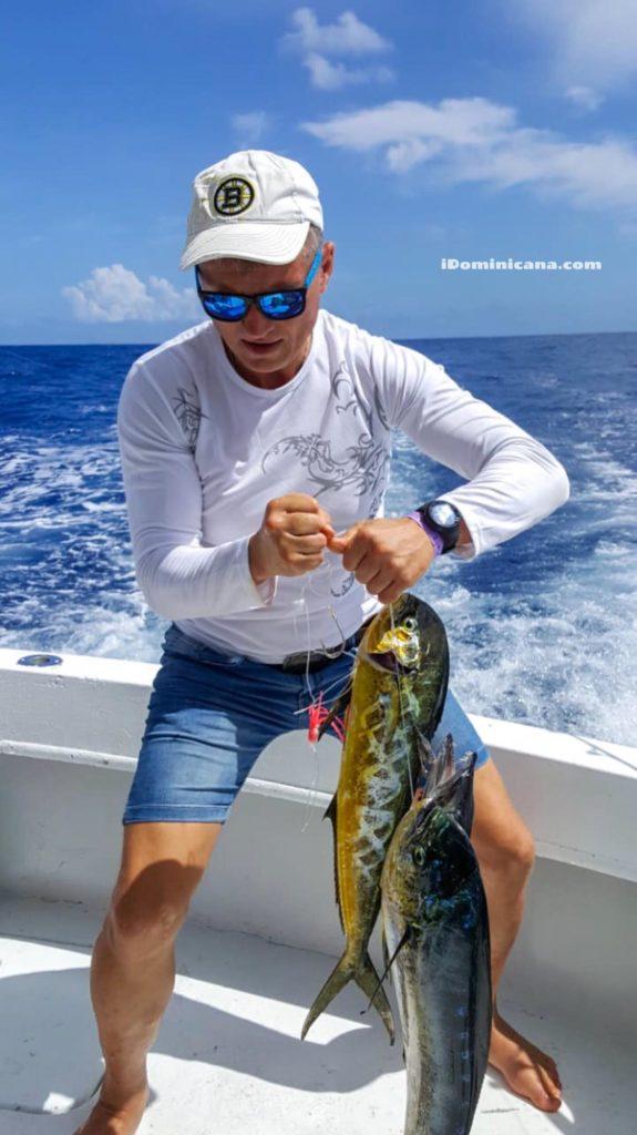 Рыбалка в Доминикане новые фото наших туристов iDominicana.com