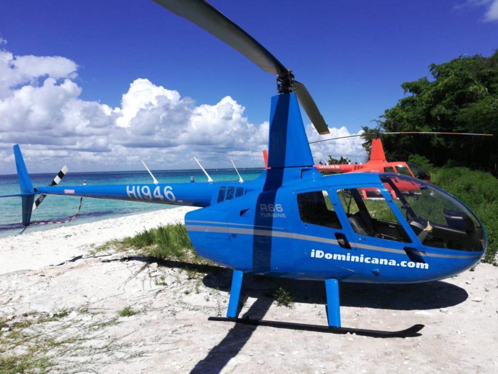 Саона на вертолете: как проходит экскурсия. Фото. Видео iDominicana.com